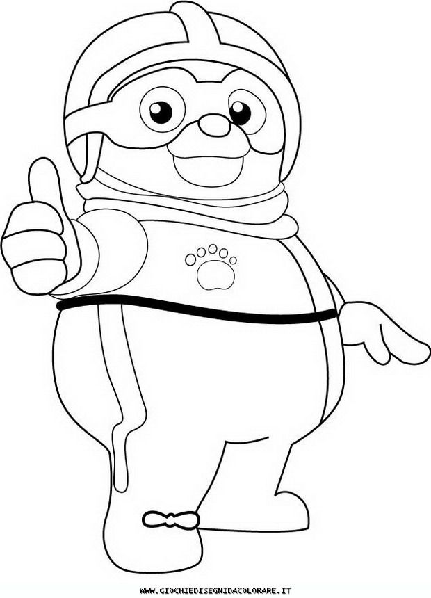 Ecial Agent Oso Colouring Pages Page 3 Coloring Home
