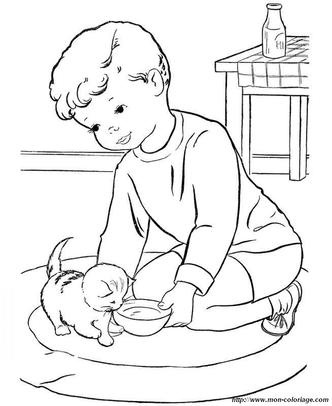 free little orphan coloring pages - photo#13