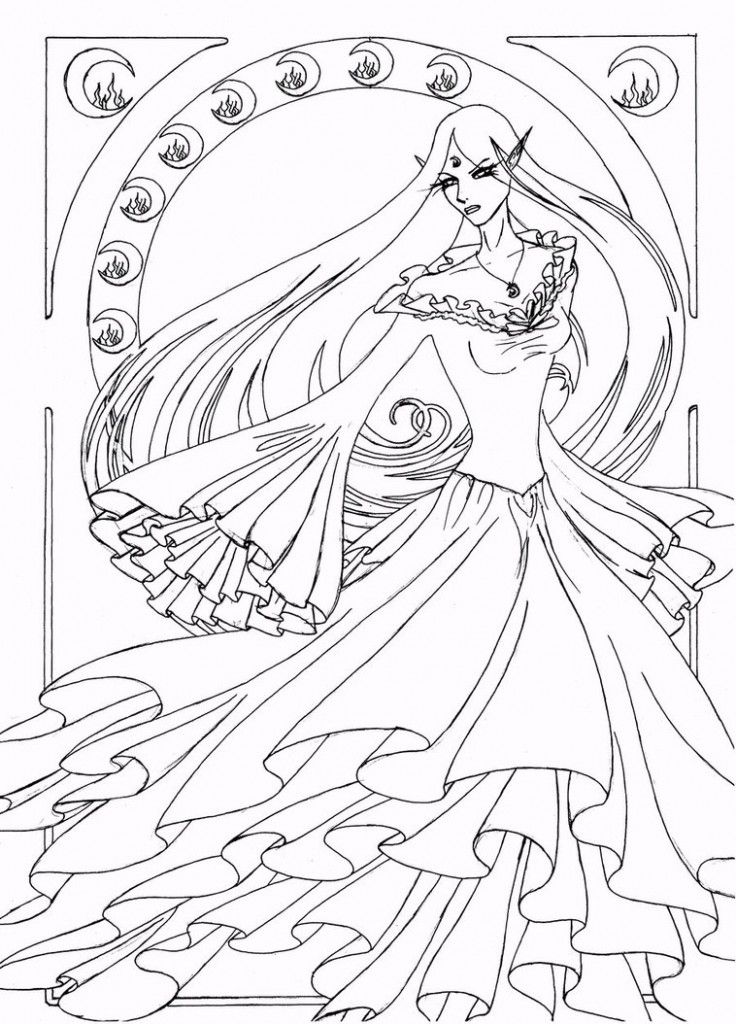line drawing coloring pages - photo#22