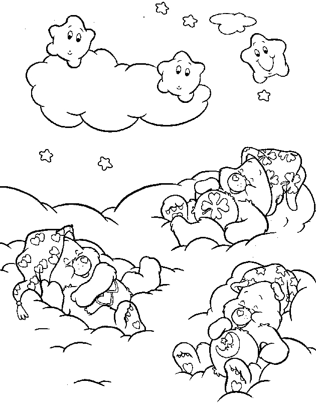 kids coloring pages on caring - photo#11