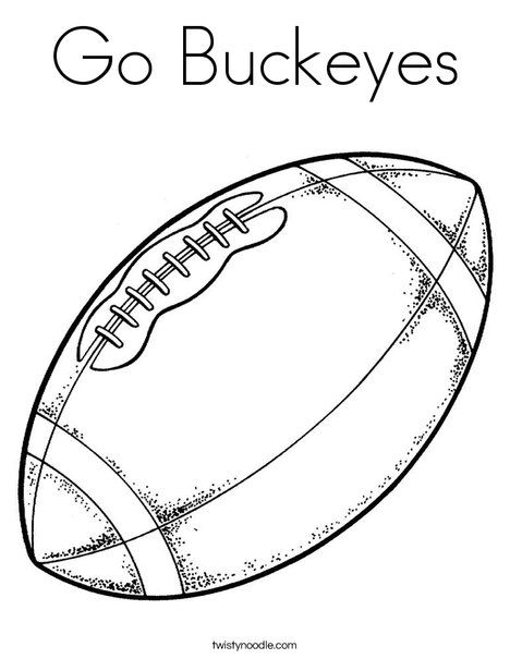 ohio state buckeyes coloring pages - photo#4