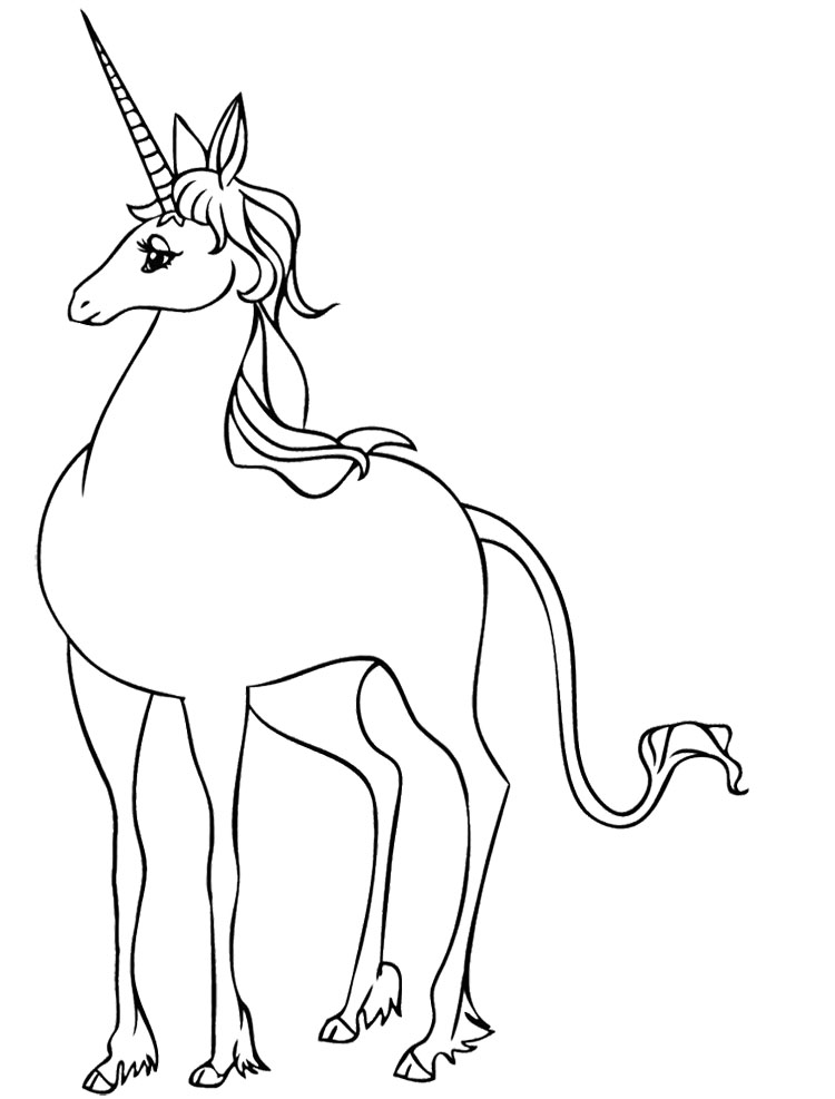 Cute Unicorn Coloring Sheets Coloring