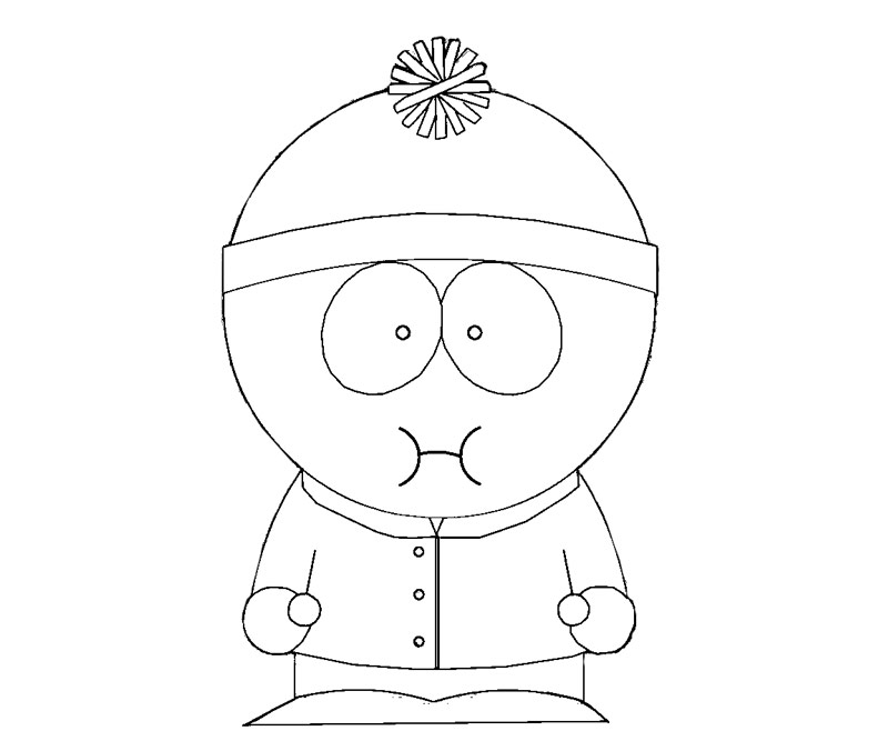 south park coloring pages to print - south park free coloring pages