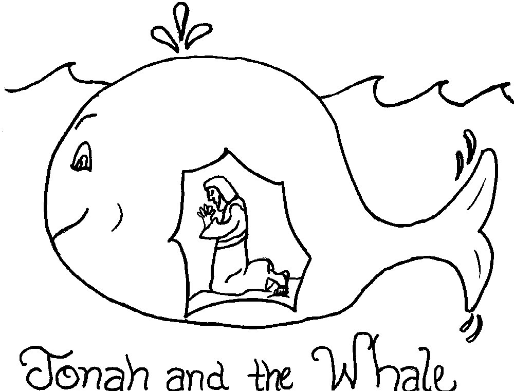 Preschool Bible Story Coloring