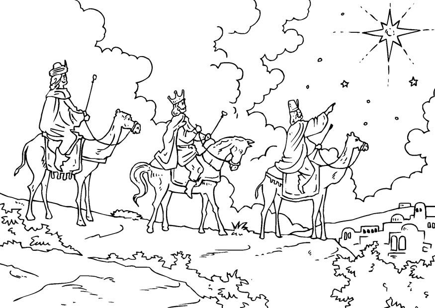 epiphany coloring pages free - photo#3