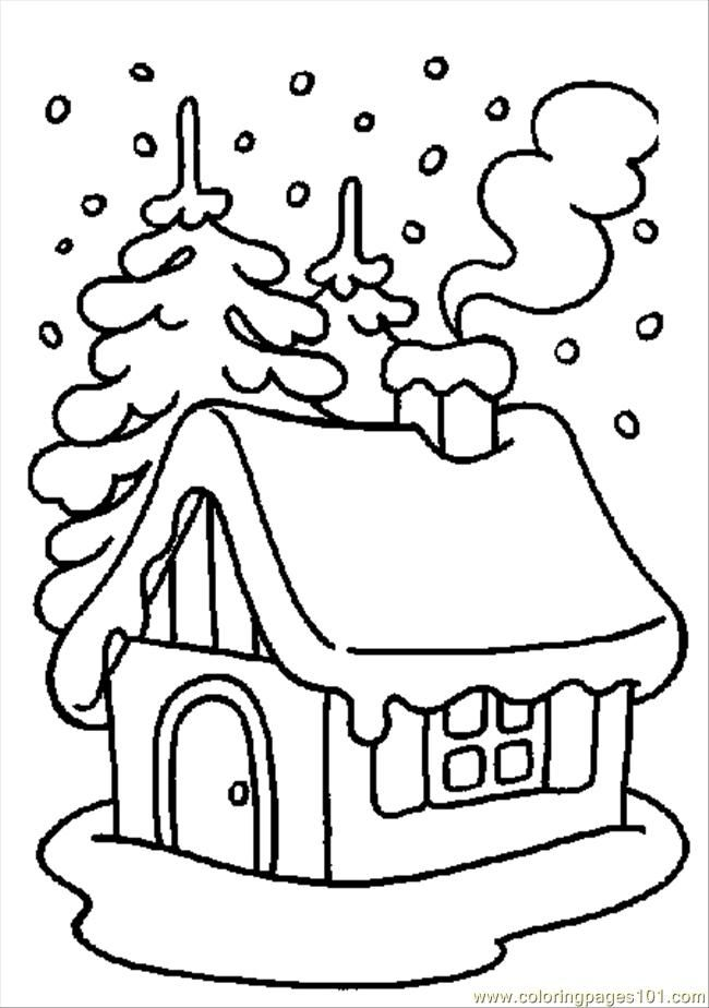 Free Winter Coloring Pages For Kids Printable - Coloring Home