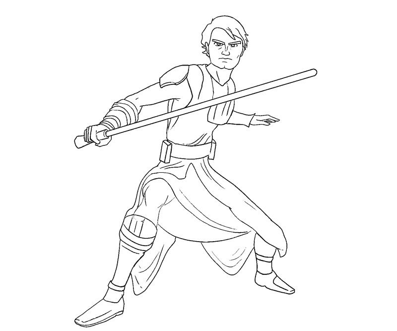 lego anakin skywalker coloring pages - photo#4