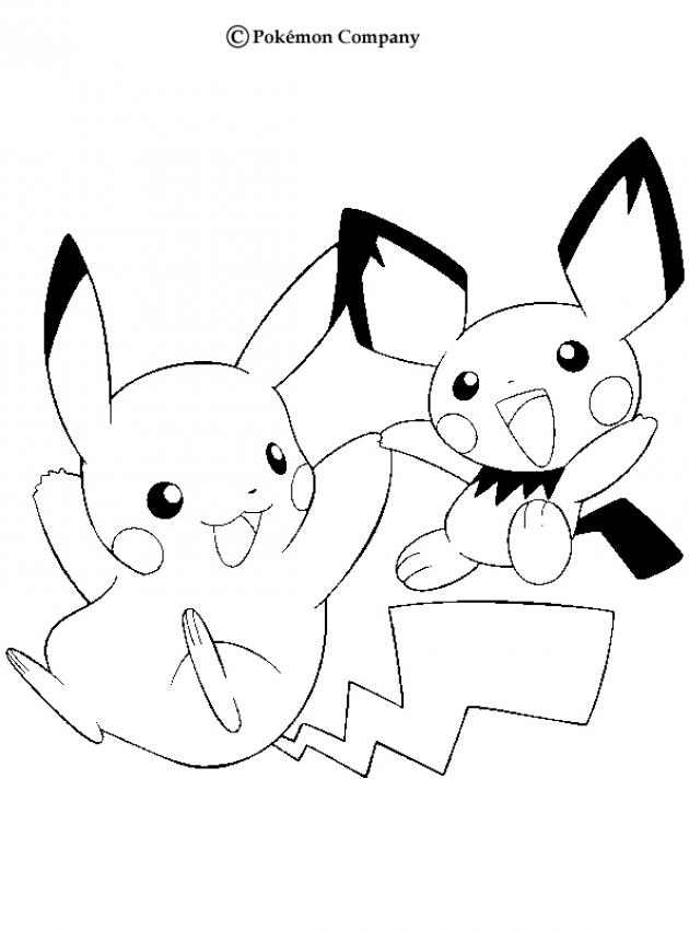 coloring pages electivire pokemon free printable pikachu