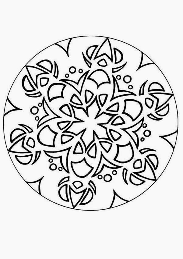 Printable Coloring Pages Mandala