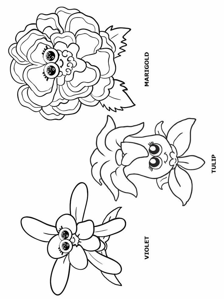 Flower Printouts Coloring Home
