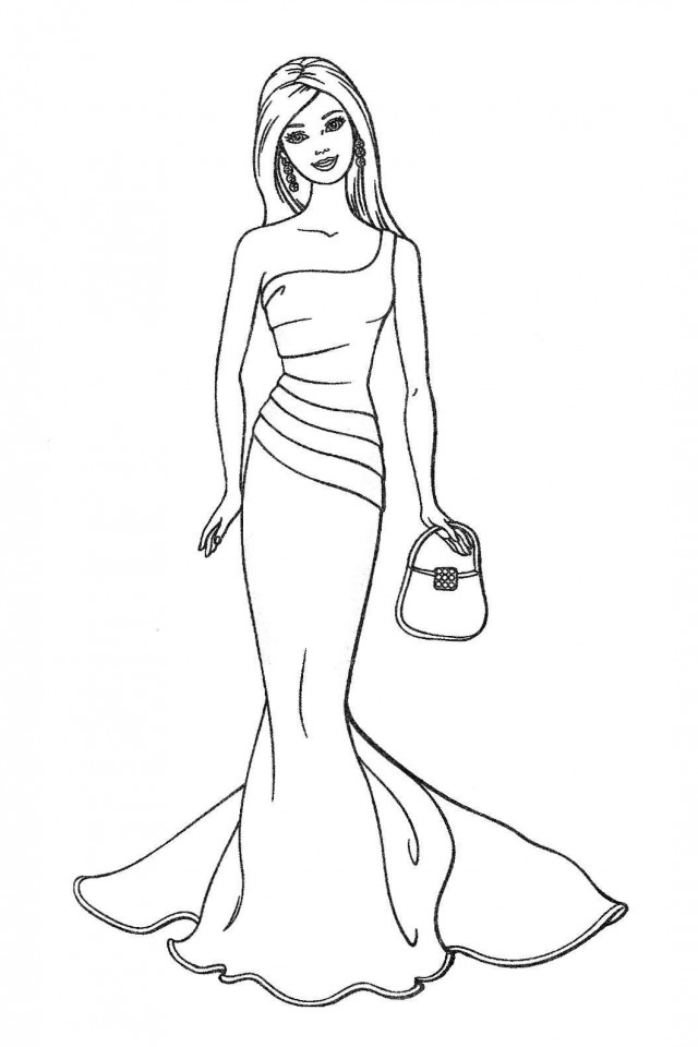 Pictures Of A Ballerina - AZ Coloring Pages