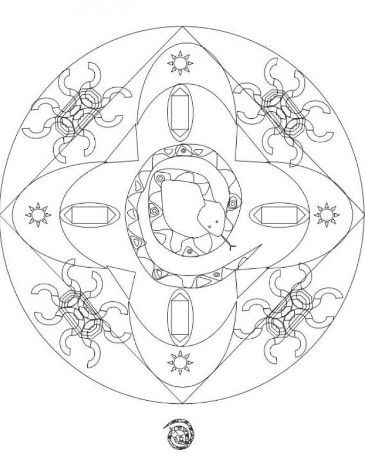 Mandala Coloring Pages Advanced Level Printable : Mandala coloring pages advanced level home