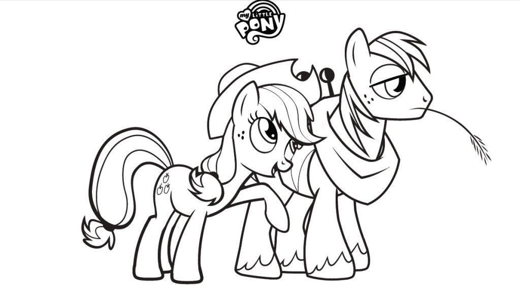 Coloring pages my little pony friendship is magic