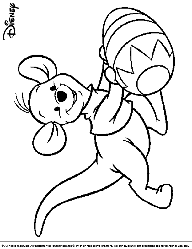 disney easter coloring pages tinkerbell - photo#5