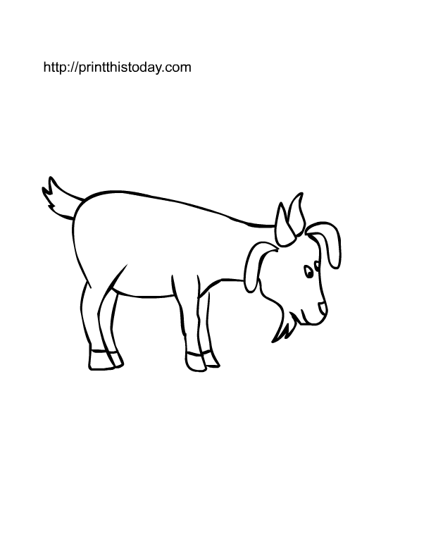 Free Printable Farm Animals Coloring Pages Print This Today
