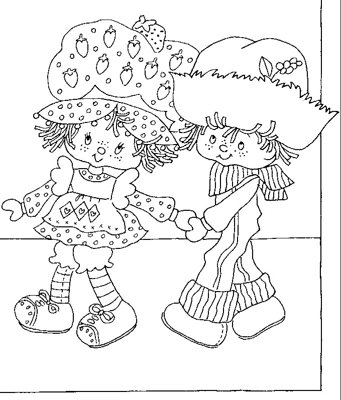 holly hobbie coloring pages - photo#28