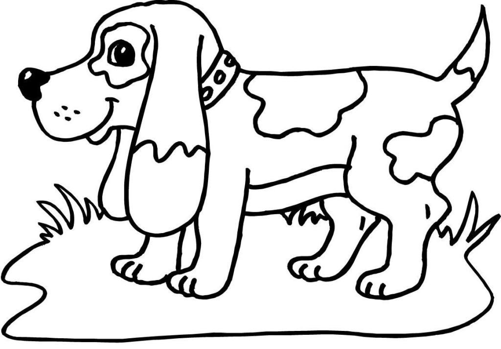 puppy coloring pages to print : Printable Coloring Sheet ~ Anbu