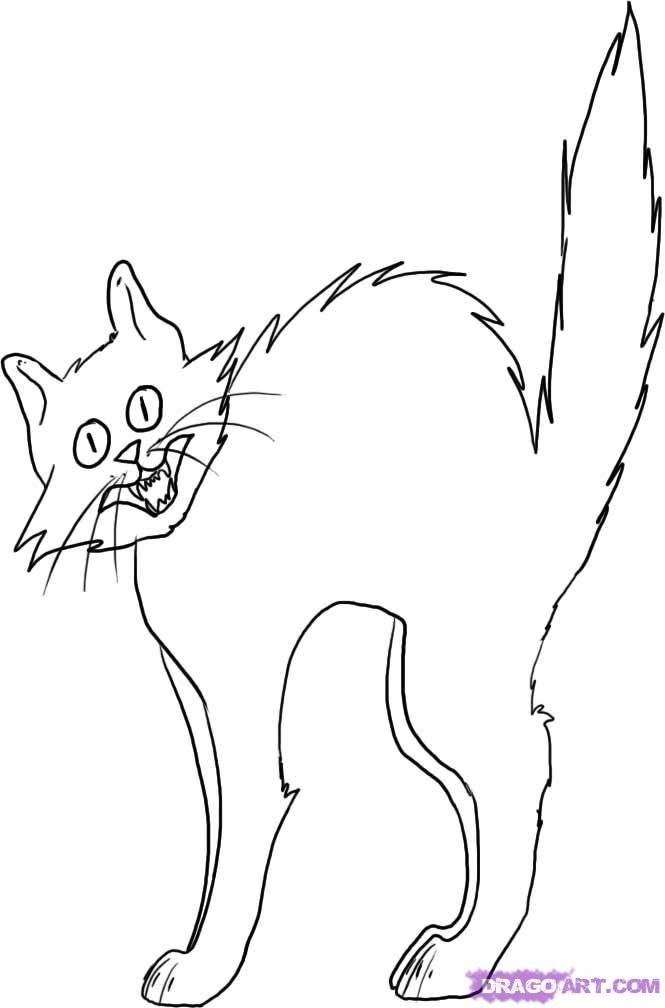 scared coloring pages - photo#29