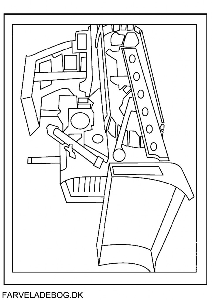 dozer coloring pages - photo#29