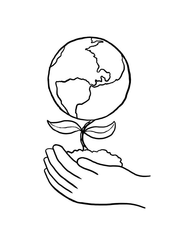 earth day green earth coloring book pages earth day coloring