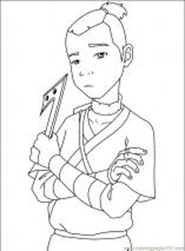 Avatar printable coloring pages az coloring pages for Avatar the last airbender coloring pages