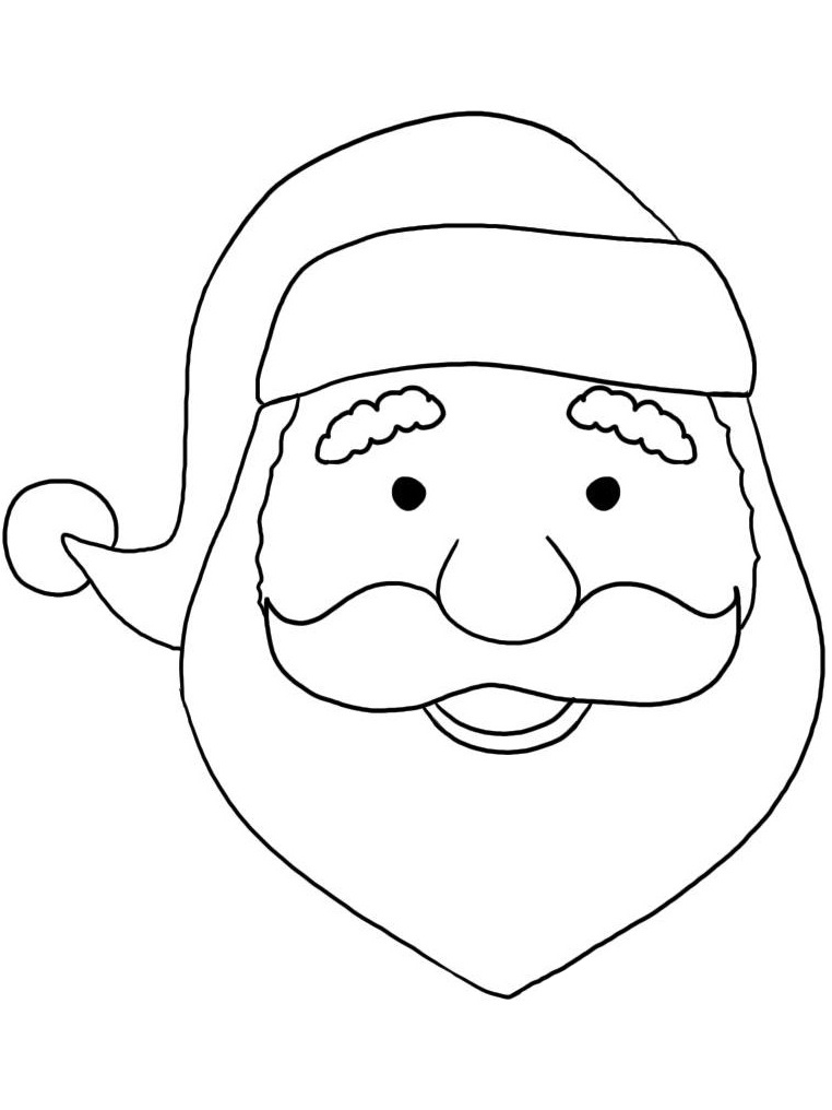 Santa Claus coloring pages Best Coloring Pages Free
