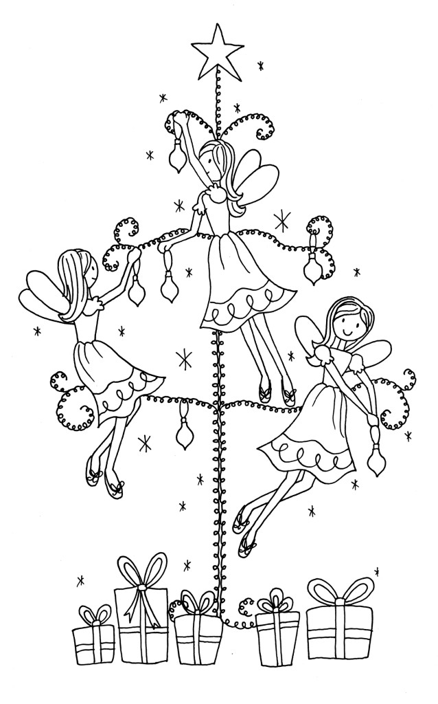 Tree coloring pages for free. Outline Of Christmas Tree coloring pages ...
