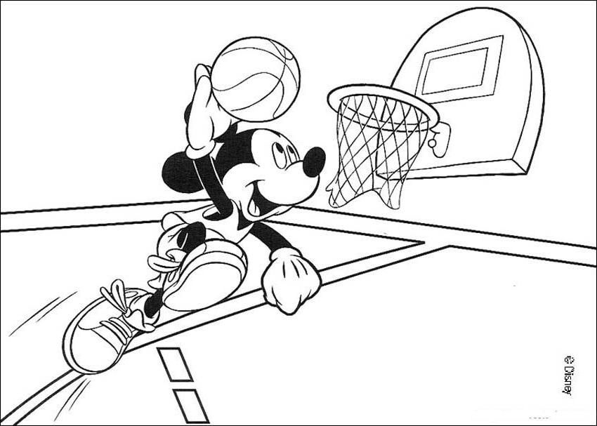 best basketball coloring pages - photo#10