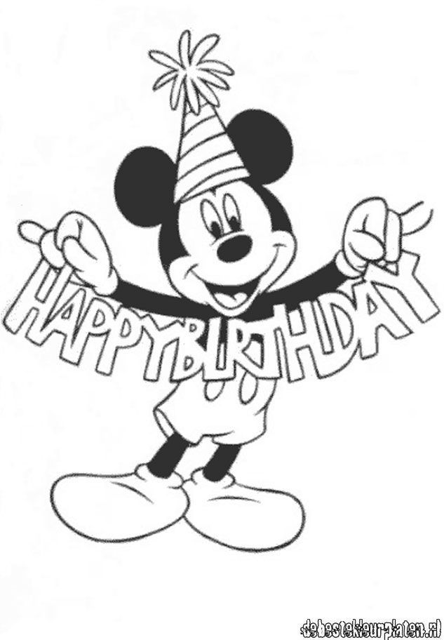 Coloring Pages Mickey - Coloring Home