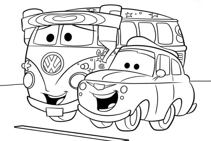 Car Movie Coloring Pages : Cars movie coloring pages az