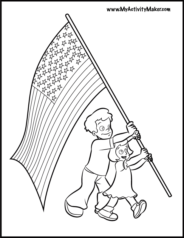 Coloring Pages Flags Coloring Home