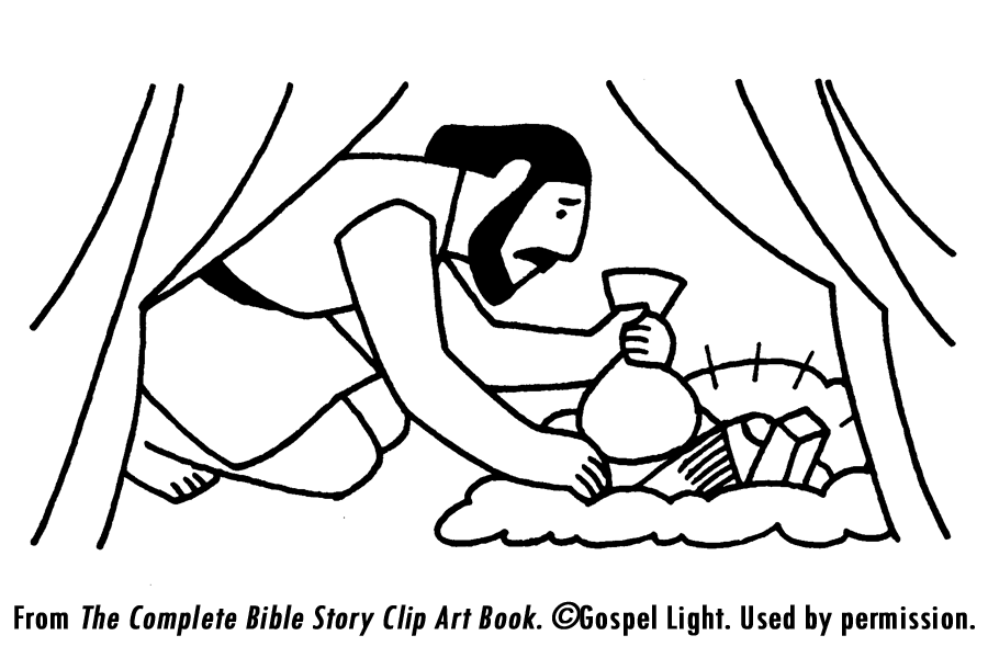 ananias and sapphira coloring pages - photo#8