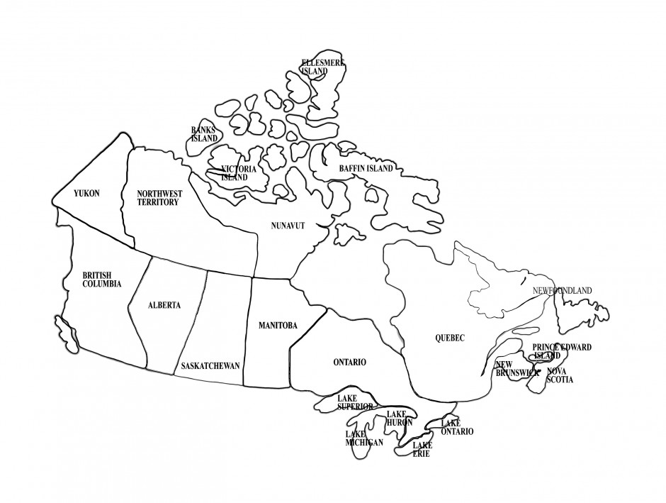 Map Of The United States Of America Coloring Page Super