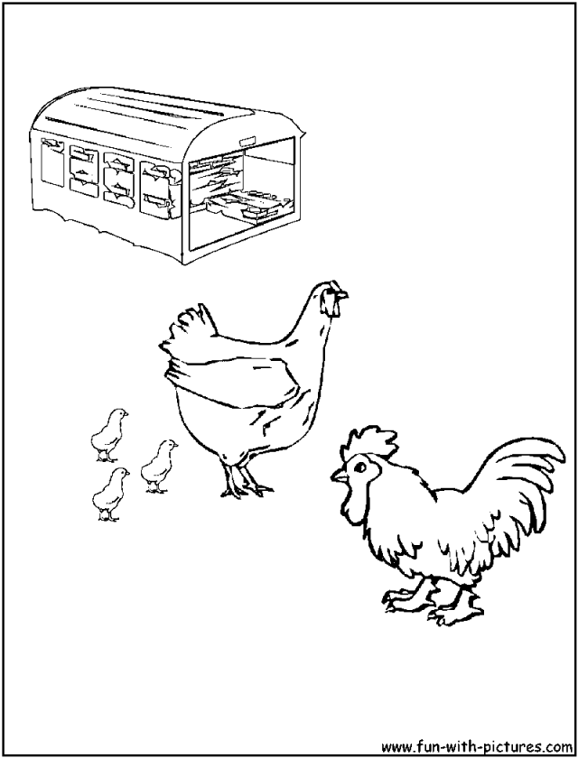 Little Red Hen Colouring Pages Page 3 217532 Little Red Hen