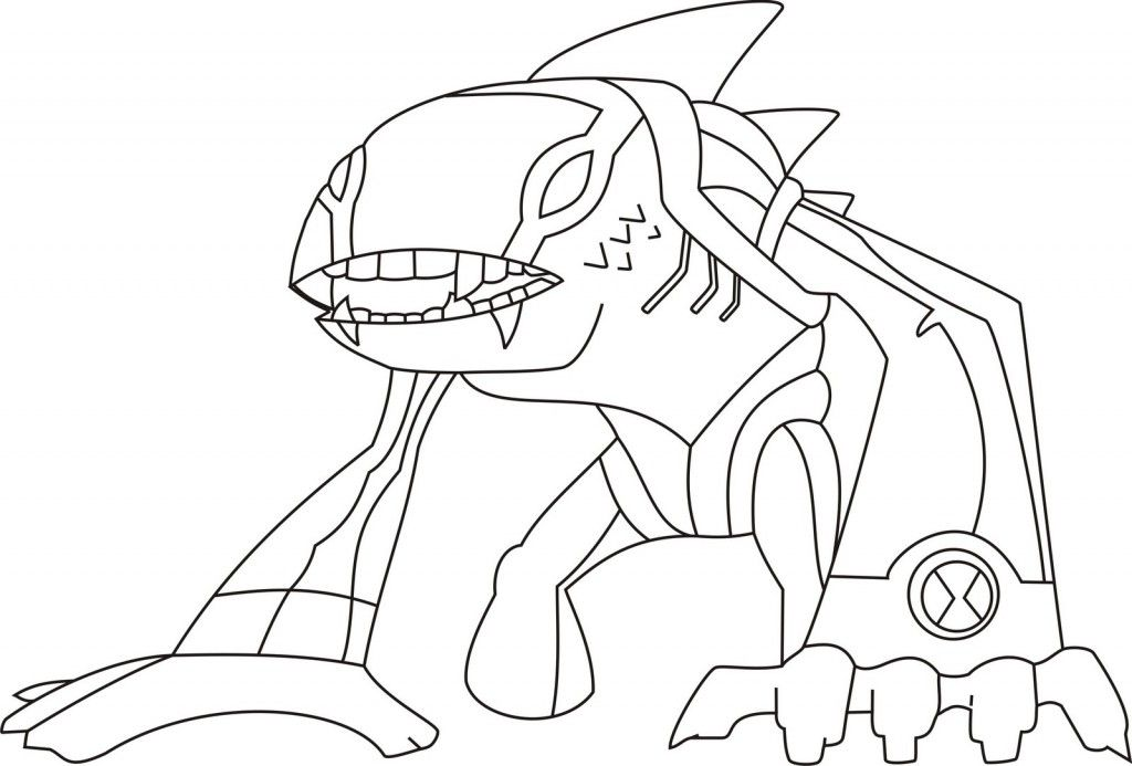 - Ben 10 Printable Coloring Pages - Coloring Home