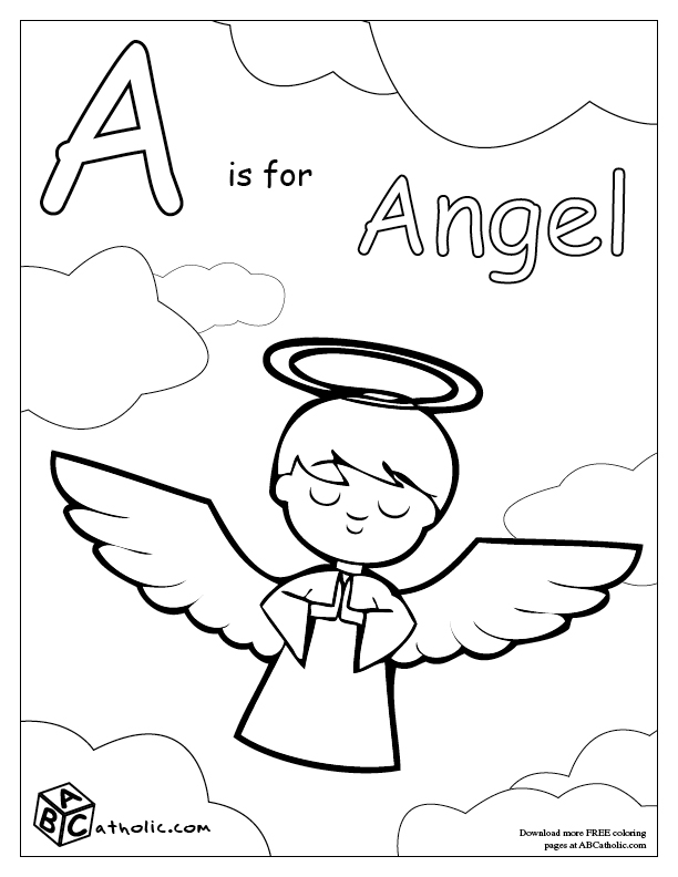 roman catholic coloring pages - photo#34