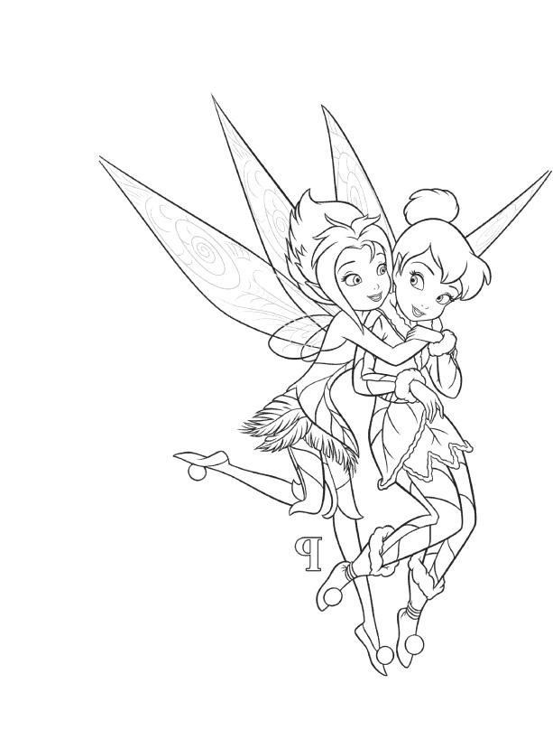 Coloring pages disney fairies vidia
