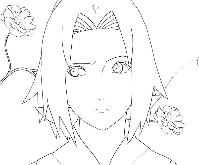 coloring pages of naruto - photo#29