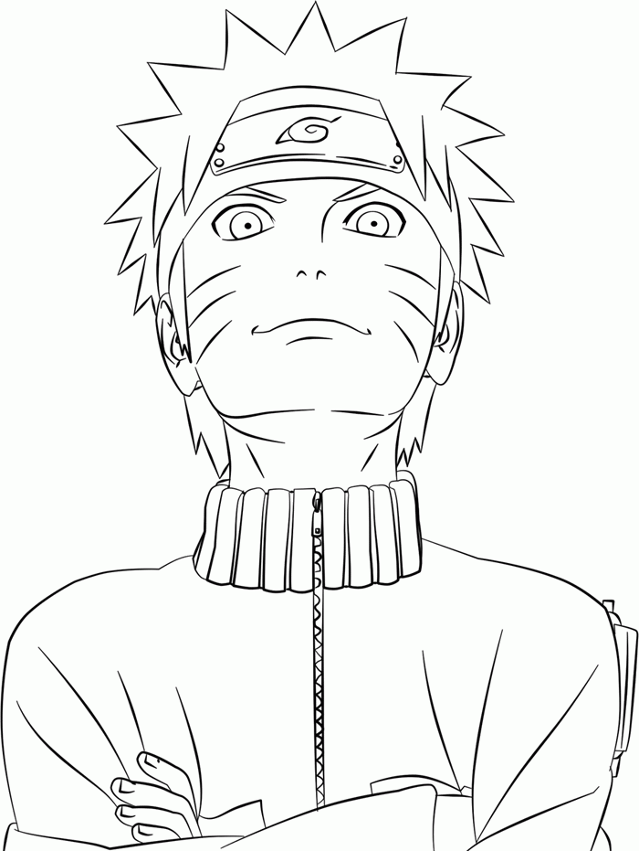 coloring pages game naruto - photo#11