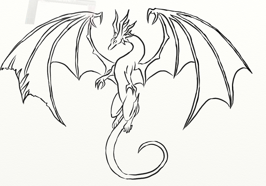 amazing baby dragon coloring pages - photo#22