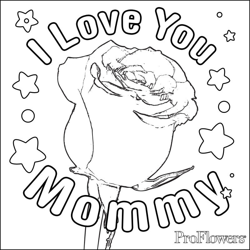 Coloring pages of roses az coloring pages for Images of roses to color