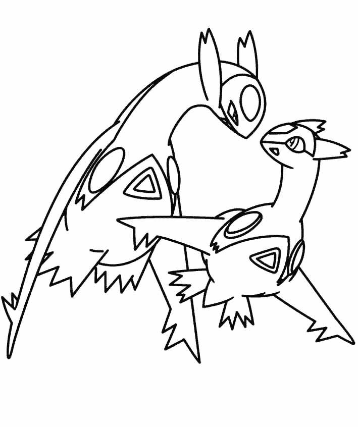 Eevee Coloring Pages AZ Coloring