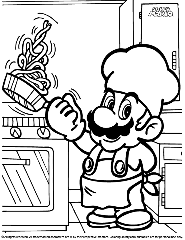 Pictures Of Super Mario Brothers - Coloring Home
