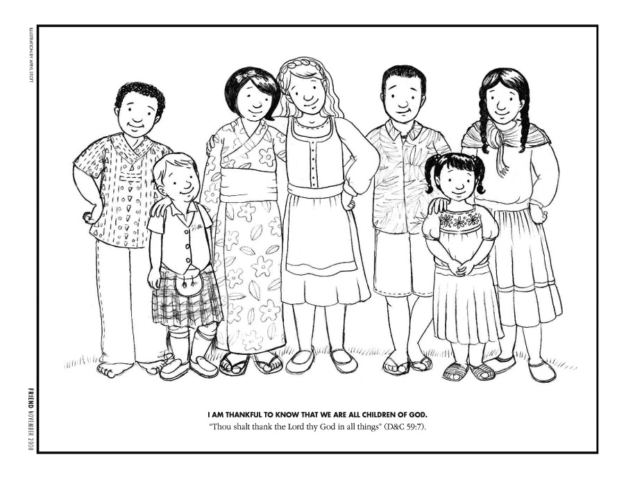 Christmas Around The World Coloring Pages - AZ Coloring Pages