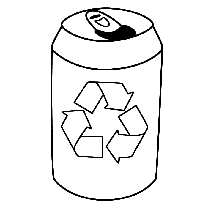 Drink Tin With Symbol