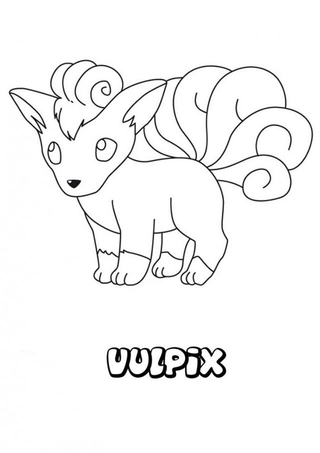 Viewing Gallery For Cute Pokemon Coloring Pages Eevee 104332 Eevee