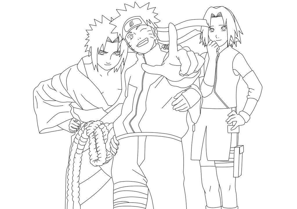 Naruto Coloring Pages Pdf : Naruto color pages az coloring