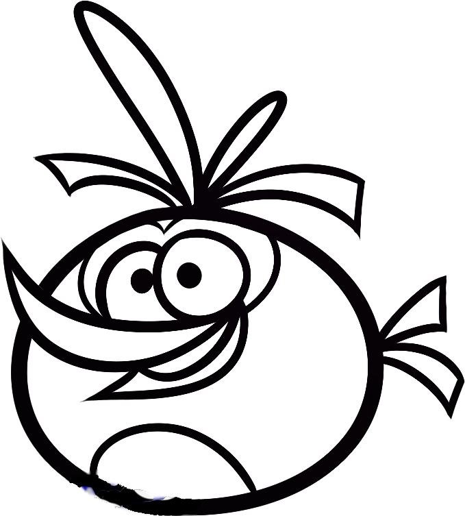 Angry birds color az coloring pages for Angry birds coloring pages for learning colors