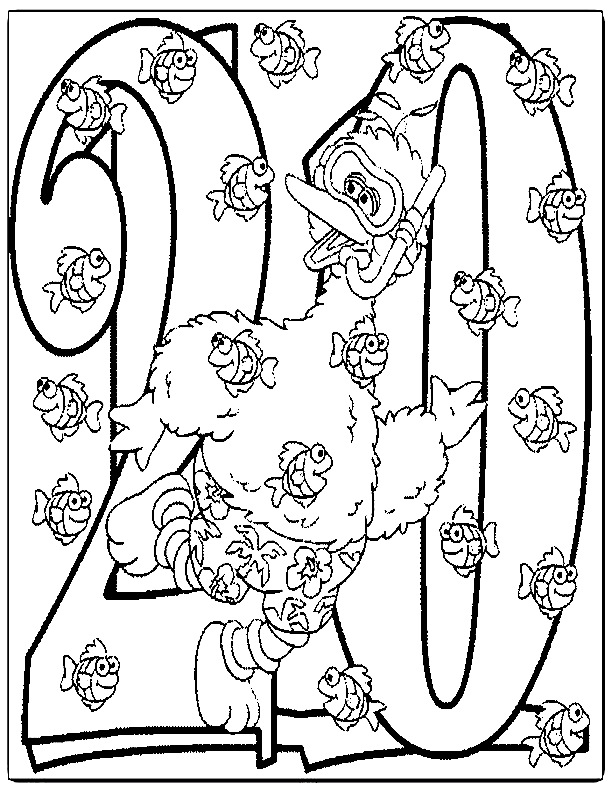 Sesame Street Coloring Pages   Sesame street coloring pages ...   792x612