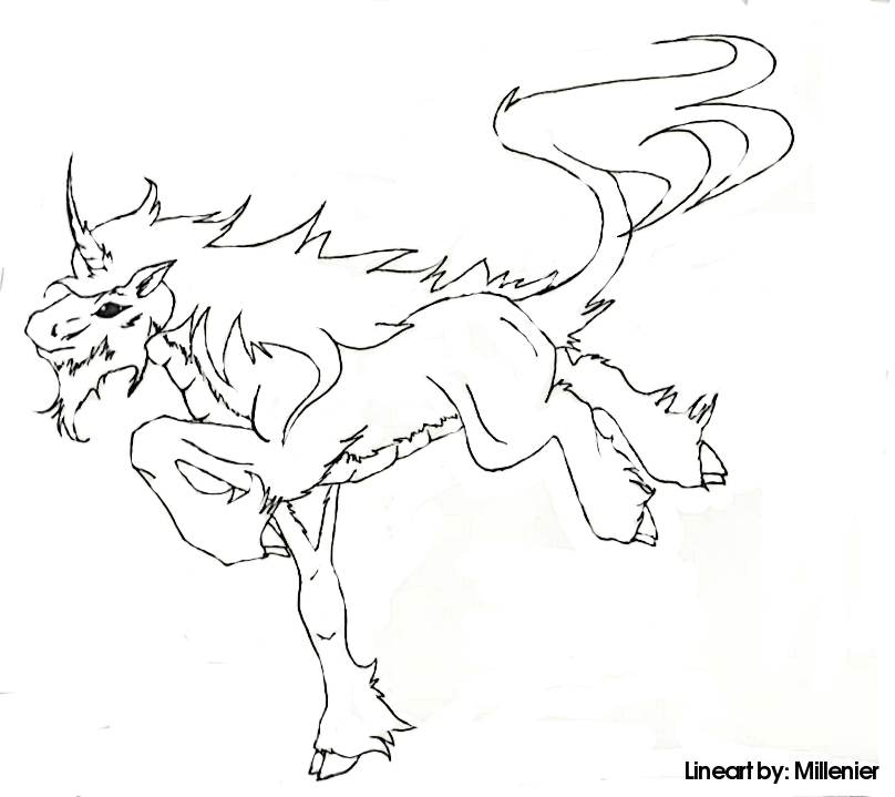 coloring pages fantasy unicorn - photo#29